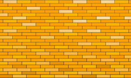 Tiles. 3d render of yellow tiles texture with black gap Royalty Free Stock Image