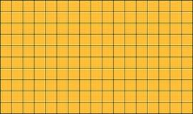 Tiles. 3d render of yellow tiles texture with black gap Royalty Free Stock Photos