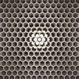 3d rendered, abstract hexagon Royalty Free Stock Photography