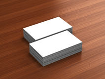 Business cards blank mockup Royalty Free Stock Photo