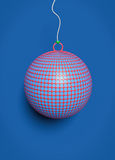 3d rendered Christmas Ball Stock Photography