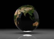 3d Rendered Earth Royalty Free Stock Images