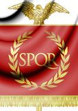 Emblem of Roman Empire. 3D Rendered Emblem of Roman Empire stock illustration