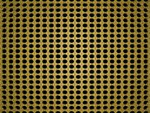 3d rendered gold background with patterns. Stock Image