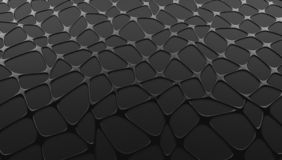 Liquid grid abstract graphite gray background. The 3d rendered graphite gray style abstract conceptual background image stock illustration