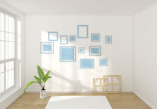 3d rendered interior composition Stock Photo