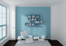 3d rendered interior Royalty Free Stock Photos