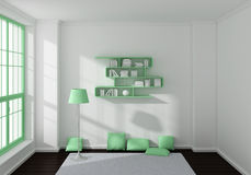3d rendered interior Stock Photo