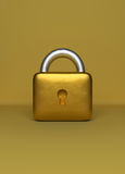 3d rendered Lock Royalty Free Stock Photo