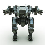 3d rendered mech  background Royalty Free Stock Photography