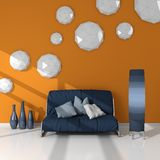 3d rendered modern interior Stock Photo