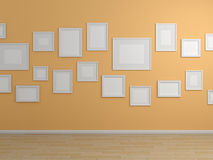 3d rendered modern interior Royalty Free Stock Images