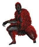 3D rendered monster Stock Image
