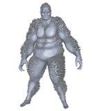 3D rendered monster Stock Photo