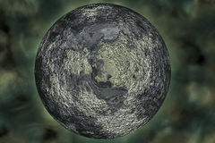 3D rendered planet pluto Royalty Free Stock Photo