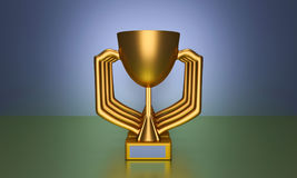 3d rendered trophy Stock Photo