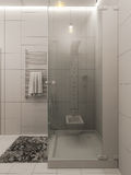 3D rendering łazienka wewnętrzny projekt dla dzieci Zdjęcie Stock