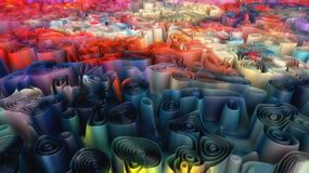 Abstract background and colors Royalty Free Stock Photo
