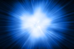 3D rendering, abstract cosmic explosion shockwave blue energy on. Black background, texture effect Stock Photography