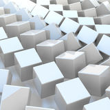 3d rendering abstract cubic. Background Stock Photography