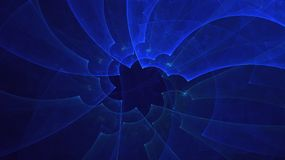 3D rendering abstract fractal light background Stock Images