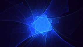 3D rendering abstract fractal light background. And graphic resources for Photoshop overlay Royalty Free Stock Photo