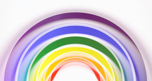 3d rendering abstract gay flag background Stock Photo