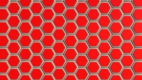 Abstract hexagon geometry background Stock Photos