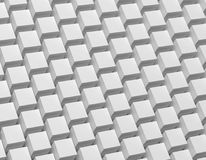 3D abstract background. Illustration of geometric stones. 3D rendering abstract monochrome geometric background. Illustration of gray cube Royalty Free Stock Images