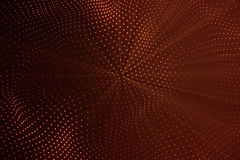3d rendering abstract polygonal low poly wave background with connecting dots and lines. Abstract Flow. Connection. Structure. Low poly mesh, Flow, Wave, Red Stock Image