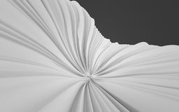 3d Rendering Abstract shape background, illustration Royalty Free Stock Images