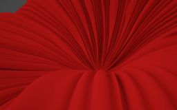 3d Rendering Abstract shape background, illustration Stock Photo