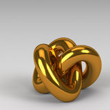 3d rendering abstract shapes Royalty Free Stock Photo