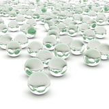 3d rendering abstract sphere. On white background Royalty Free Stock Image