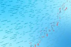 3d rendering, Akcyjna mapa z błękitnym tłem ilustracja wektor
