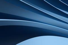 3d rendering, błękitna kruszcowa powierzchnia i graficznego projekta tło, ilustracja wektor