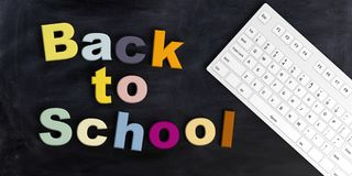 3d rendering Back to school Royalty Free Stock Photos
