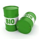 3D rendering barrel of biofuels Stock Photography