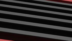 3d rendering bielu jasnego Pusty Subtelny Geometryczny abstrakt fotografia stock