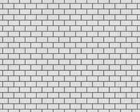 3D RENDERING OF BRICK WALL BACKGROUND. 3D RENDERING OF PLAIN WHITE BRICK WALL BACKGROUND Stock Images