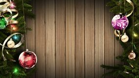 3D rendering of a bright festive Christmas frame will help create an amazing magical atmosphere. 3D-rendering of a festive Christmas frame will help create an royalty free illustration