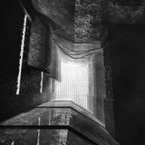 3D rendering Brutalist architektury monochrom Obrazy Royalty Free
