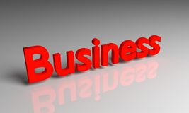 3D rendering business. royalty free stock photos