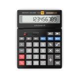 3d rendering calculator Stock Photos