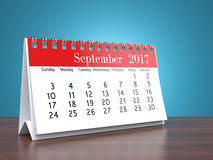 3D rendering calendar Royalty Free Stock Images