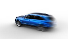 3d rendering car Royalty Free Stock Photos