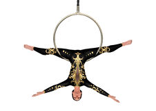 3D Rendering Circus Performer on White Royalty Free Stock Photo