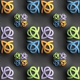 3D rendering of colorful plastic background tile. 3D rendering of colorful plastic background design layout seamless tile for creative design work Royalty Free Stock Image