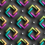 3D rendering of colorful plastic background tile. 3D rendering of colorful plastic background design layout seamless tile for creative design work Stock Photography