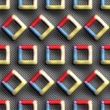 3D rendering of colorful plastic background tile. 3D rendering of colorful plastic background design layout seamless tile for creative design work Stock Images